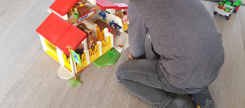 Logeren is spannend voor gevoelige kinderen.